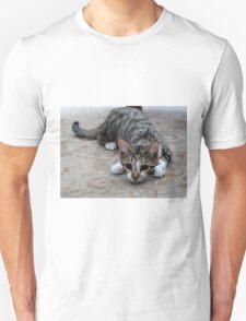Monty the lively Cat  Unisex T-Shirt