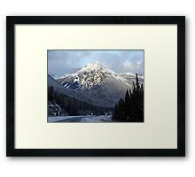 That Wintry Feeling Framed Print