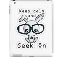 Geek Bunny iPad Case/Skin