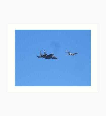 Airshow RI air Base Art Print