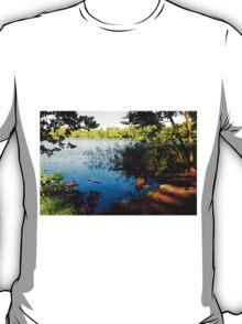 Virginia Water Lake, Windsor, England T-Shirt