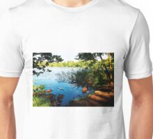 Virginia Water Lake, Windsor, England Unisex T-Shirt