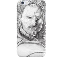 Aragorn Portrait iPhone Case/Skin