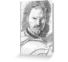 Aragorn Portrait Greeting Card