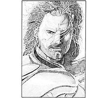 Aragorn Portrait Photographic Print