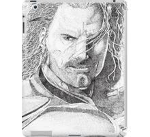 Aragorn Portrait iPad Case/Skin