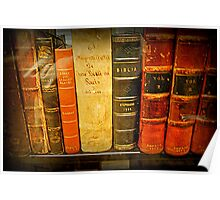 Jefferson's  Bookshelf Poster