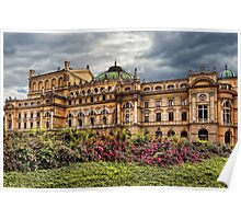 Slowacki Theatre in Cracow Poster