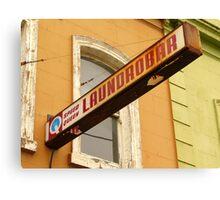Laundrobar Canvas Print