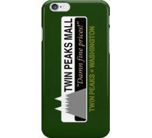 Twin Peaks Mall iPhone Case/Skin