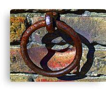 Rusty Ring Canvas Print