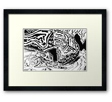 Dragon Slayer! Framed Print