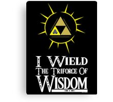 I wield (Wisdom) Canvas Print