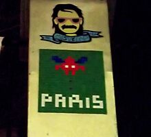 Space Invaders Paris by SHappe