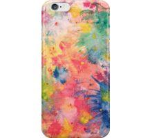 Watercolor Splash iPhone Case/Skin