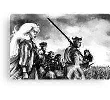 Seven Mutants Canvas Print