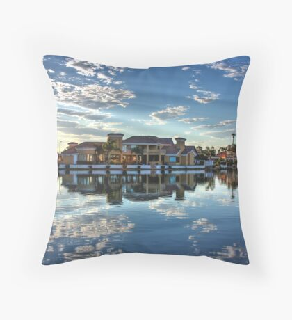 Homefront Throw Pillow