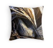 frozen corn Throw Pillow