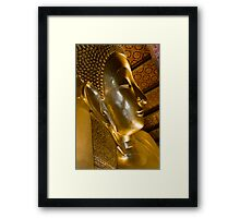 A glimpse of buddhism Framed Print