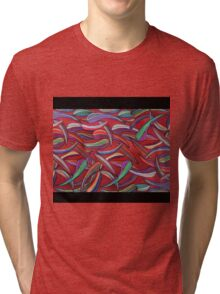 Pastels - Earth - Pilbera Red Tri-blend T-Shirt