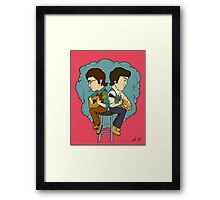 The Fab Two Framed Print