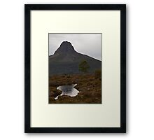 Up and Down Barn Bluff Framed Print