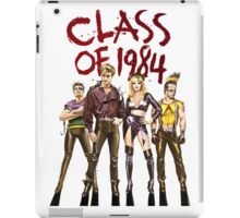 CLaSs of 1984! iPad Case/Skin