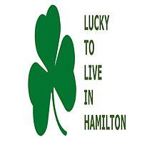 Lucky Hamilton by TeesUnited