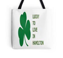 Lucky Hamilton Tote Bag