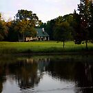 Farm House at Willow Pond by MaupinPhoto