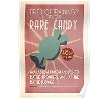 Rare Candy Ad Poster
