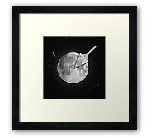 Moon Slice Framed Print