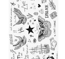 Harry Styles Tattoos by Tiffany Larson