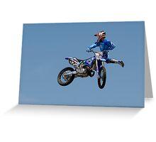 Showtime FMX Yamaha Freestyle Team V Greeting Card