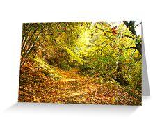 Autumn in Oregon Greeting Card