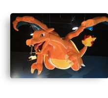 Charizard Pokemon Center Statue Canvas Print