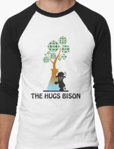 The Hugs Bison Men's Baseball ¾ T-Shirt