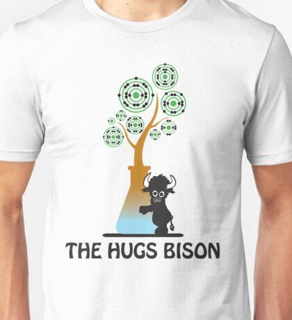 The Hugs Bison Unisex T-Shirt