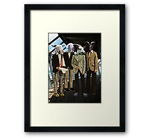 Goat Couture Framed Print