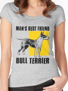BULL TERRIER-2 Women's Fitted Scoop T-Shirt
