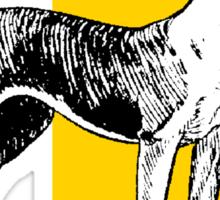 BULL TERRIER-2 Sticker