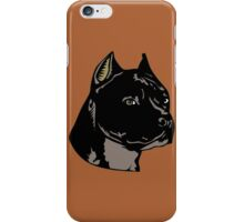 PIT BULL-4 iPhone Case/Skin