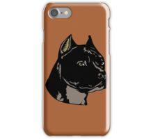 PIT BULL-4 iPhone Case/Skin