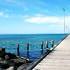 Mordialloc Pier by Megan Raphael