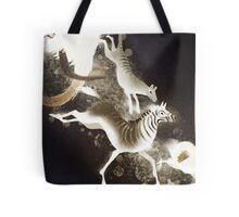 they went to extinction Tote Bag