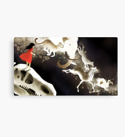 they went to extinction Canvas Print