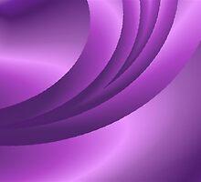 Purple Satin by Marie Sharp