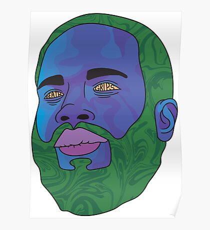 MC Ride (Death Grips) Poster