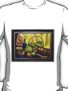 Still Life with Basket T-Shirt