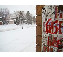 Graffiti for the Holidays Photographic Print